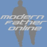modern father online square blue grey
