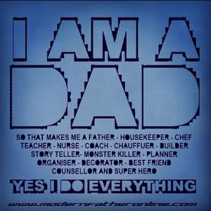 I AM A DAD meme instagram version