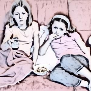 kids watching television