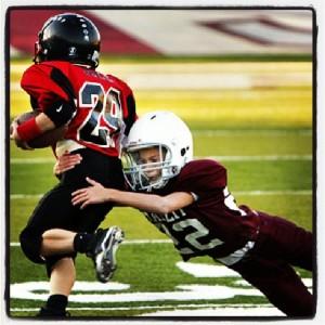 Kids Playing Football Wikimedia Commons - Josh Adkins