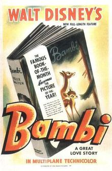 220px-Walt_Disney's_Bambi_poster