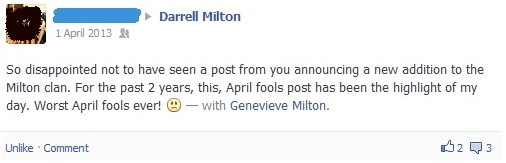 april fools joke gone wrong 2013