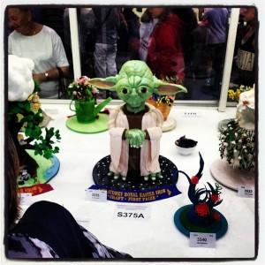 Sydney Royal Easter Show Yoda Cake 2014