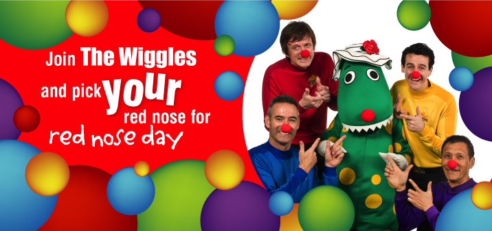 wiggles red nose day sids