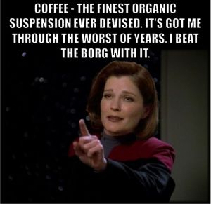 star trek coffee meme
