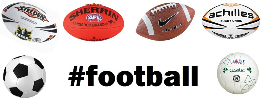 different types of football balls