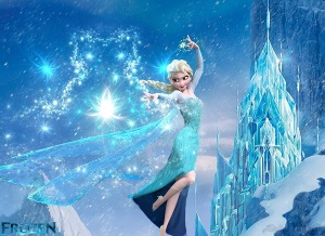 Disney's Elsa Doing Magic