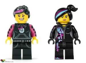 Lego Skater Girl and Lego Movie Wyldstyle