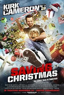 Kirk Cameron's Saving Christmas movie is an attack on Santa Claus and has been reported to be the worst movie of all time