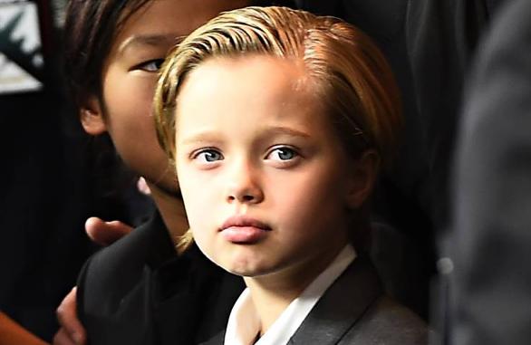 """Shiloh """"John"""" Jolie-Pitt - different gender, different name."""