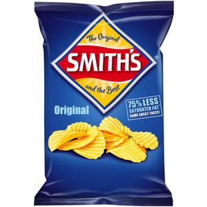 Smith's Crinkle Chips Plain