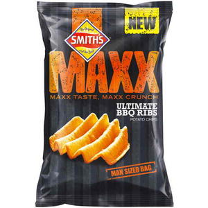 Smith's Maxx Chips Man Size Bag