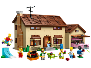Lego Simpsons House Photo courtesy: shop.lego.com