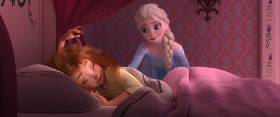 Frozen Fever Anna Bed