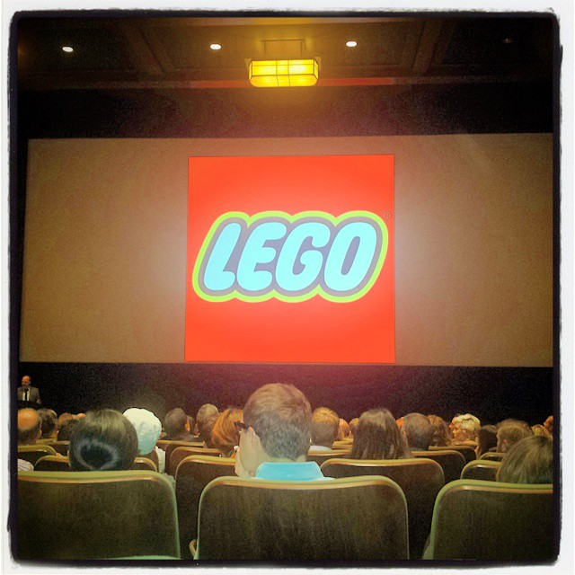 Inside George Lucas' private movie theatre waiting for the secret presentation...
