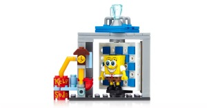 Formerly licensed to Lego, SpongeBob SquarePants is now part of the Mega Bloks toyline