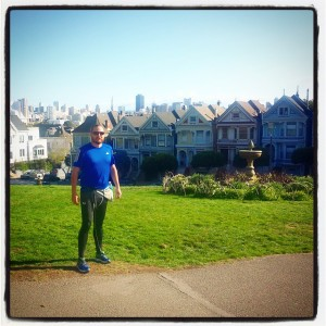 I ran 2 miles from my hotel to see the Painted Ladies that feature in the Full House opening sequence. This was the scene of my epiphany.