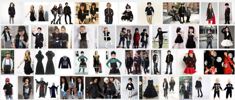 kids clothing black Google search