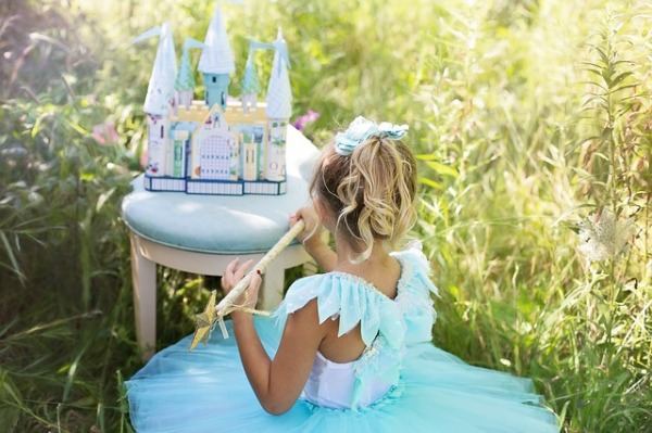 If I had a daughter, she could dress like a princess 24/7 for all I care. Photo courtesy of Pixabay.