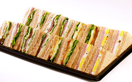 Photo courtesy of http://magnumopuscatering.com.au/sandwiches-platter