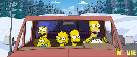 The Simpsons are going to... Alaska