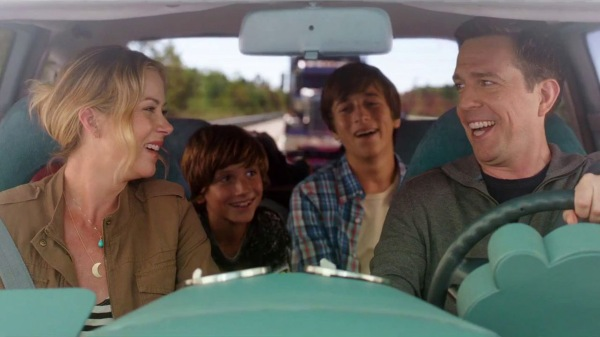 Rusty Griswold has taken over the driver's role in Vacation 2015