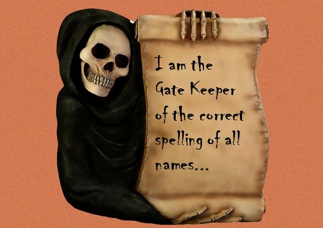 gate keeper of names