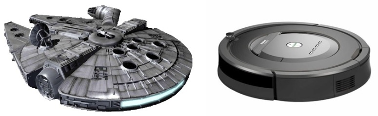 Star Wars Branded iRobot Roomba Vacuum Cleaner