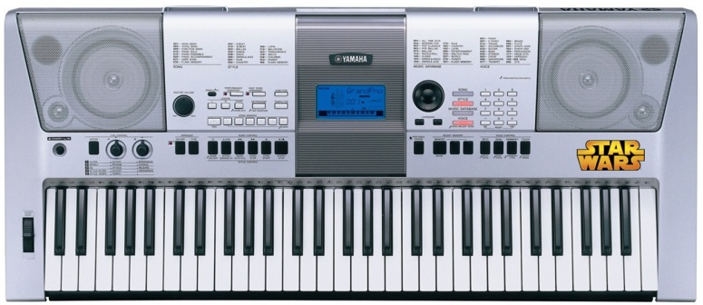 Star Wars branded Musical Keyboard - Yamaha