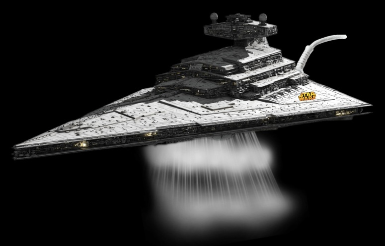 Star Wars Branded Steam Iron - Star Destroyer