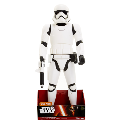 "Star Wars 31"" or 79cm First Order Stormtrooper Figure. Click here for more details."