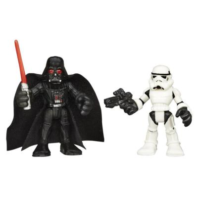 "The Playskool Heroes Galactic Heroes Star Wars stand 6.35cm or 2.5"" tall. To check out the complete range click on this link."
