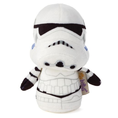 "The itty bittys® Star Wars™ Stormtrooper™ by Hallmark are 4"" or 10cms tall. Click here to see the whole range."