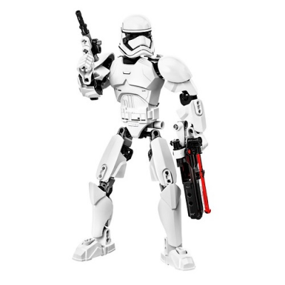 LEGO® Constraction Ultrabuild Star Wars First Order Stormtrooper™ 75114. Click here to check out the other Ultrabuild figures.