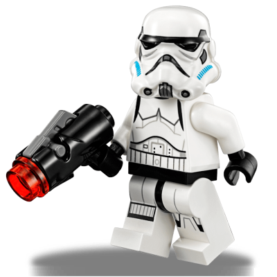 "The Lego First Order Stormtroopers are 4.2cm or 1.67"" tall. Click on this link to check out Lego's Star Wars collection."