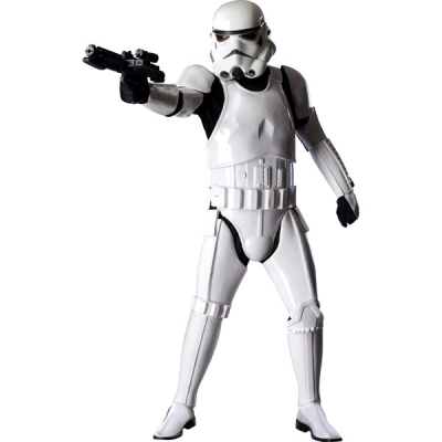 OfficialStarWarsCostumes.com has budget costumes up to realistic looking costumes.