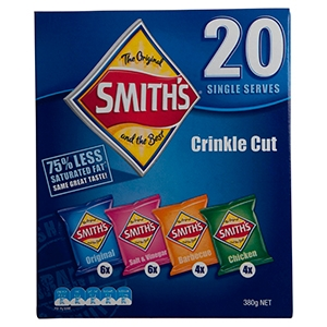 smiths crinkle cut multi pack chips
