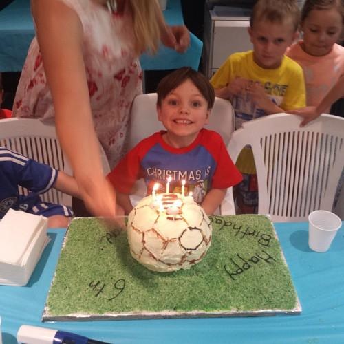 cadel cake 6th soccer