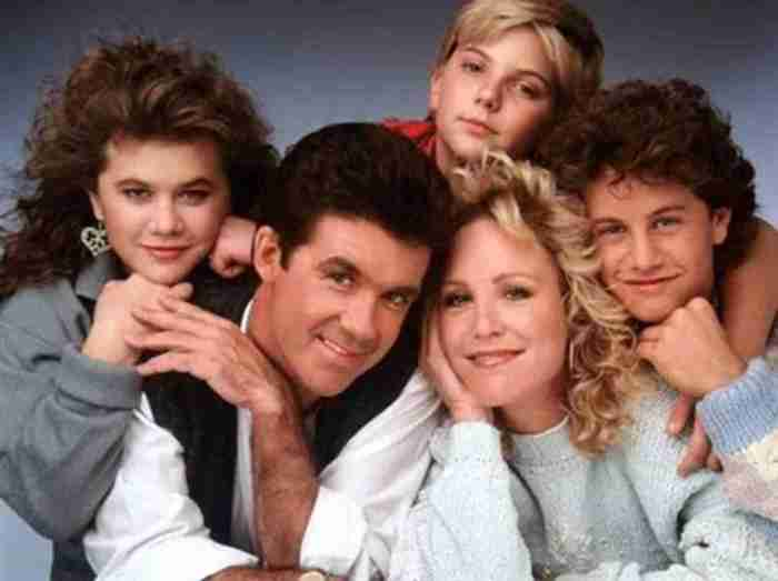 The original cast of Growing Pains